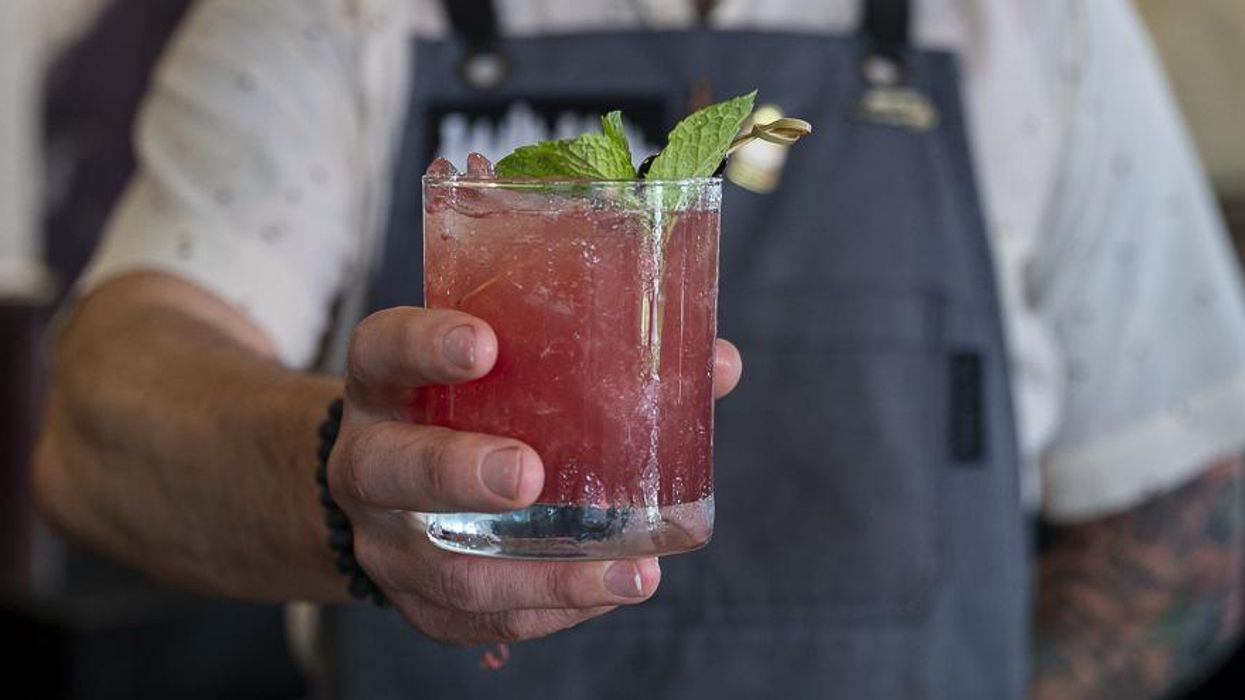 Cheers to the Alley! Resto Offers Cool Cocktail and, Um, Spam to Honor Theater's 75th Anny