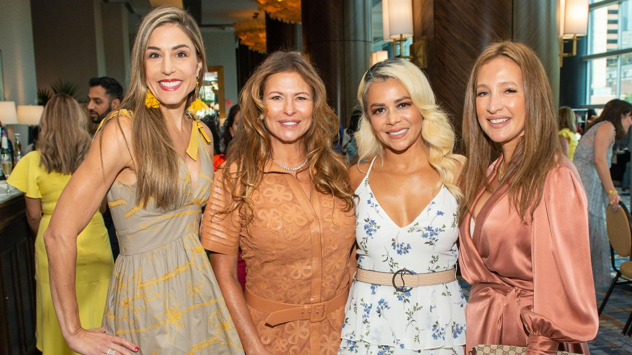 Huge Crowd Turns Up for Colorful Latin Women's Lunch and Fashion Extravaganza