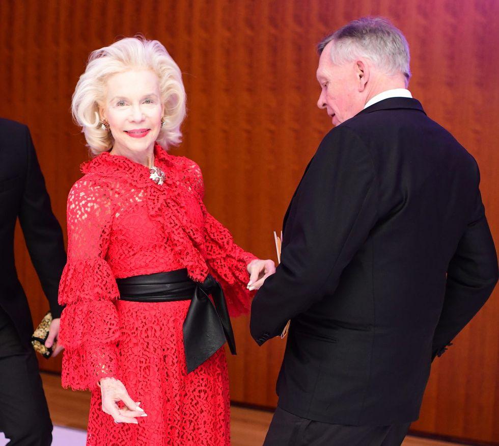 Lynn Wyatt and Richard Flowers