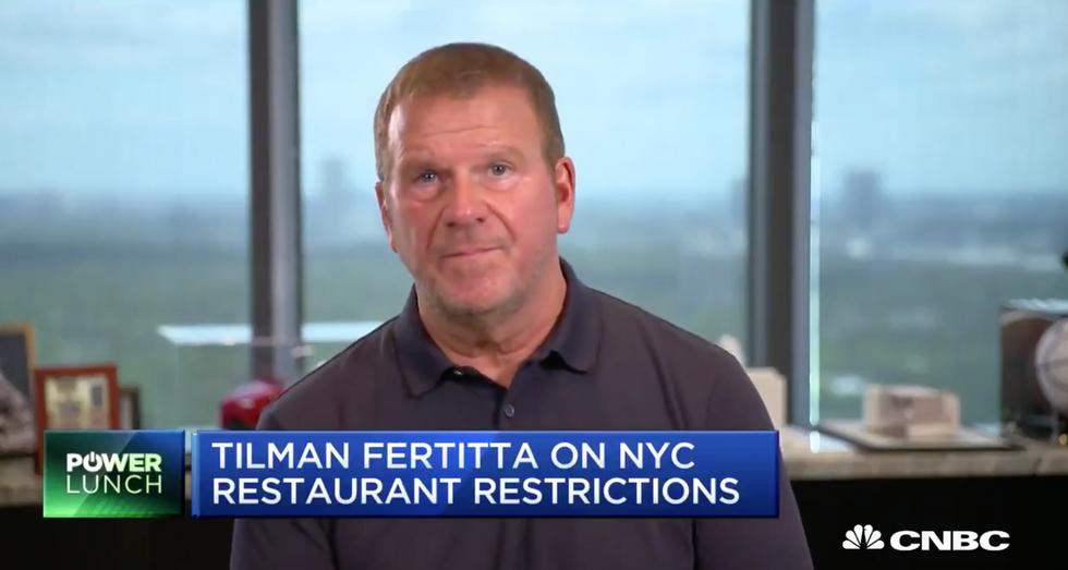 Tilman Fertitta Blasts de Blasio: 'He Does Not Care About New York City'