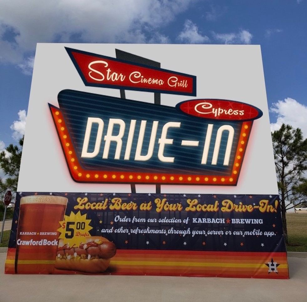 SCG Drive-In Sign