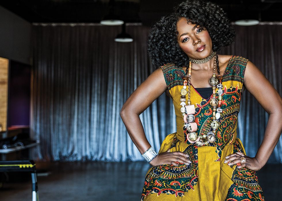 Born and raised in Angola, singer VIVALDA DULA, along with her classical guitarist husband Marcelo Robert, relocated from Luanda to Houston in 2012. In Houston, Dula recorded two albums of her percussion-heavy, Africa-inspired music, 2013's Insanidade Mental and 2015's Africa. A dynamic live act, with a griot's gift for storytelling, Dula often sings her socially conscious lyrics in Kimbundu, a language banned from her country's schools before the Angolan Civil War. Fittingly, Dula — who boasts an effervescent personality and impossibly glowing skin — just performed at the Global Issues Summit in Sugar Land. The new mom to an eight-month-old girl is currently recording an album with Grammy-winning producer Emilio D. Miller.