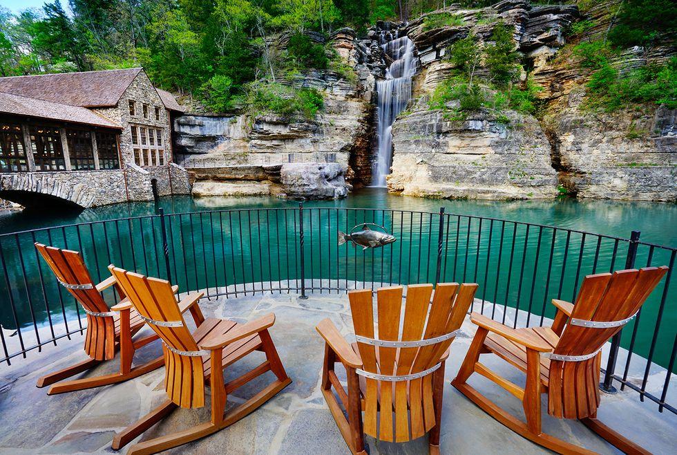 20) Dogwood Canyon - Canyon Grill Restaurant Patio