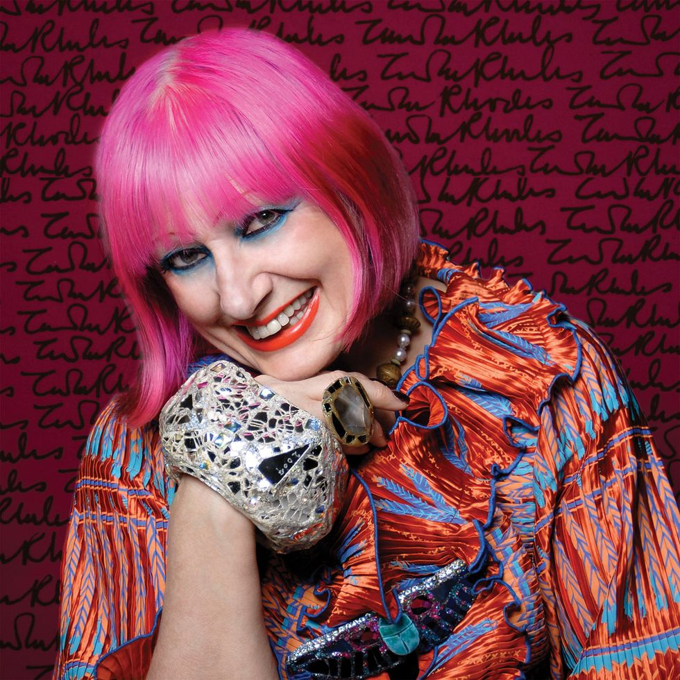 Zandra_Rhodes, Photo credit Gene-Nocon