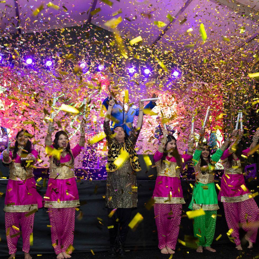 Bollywood performance at 'Green'