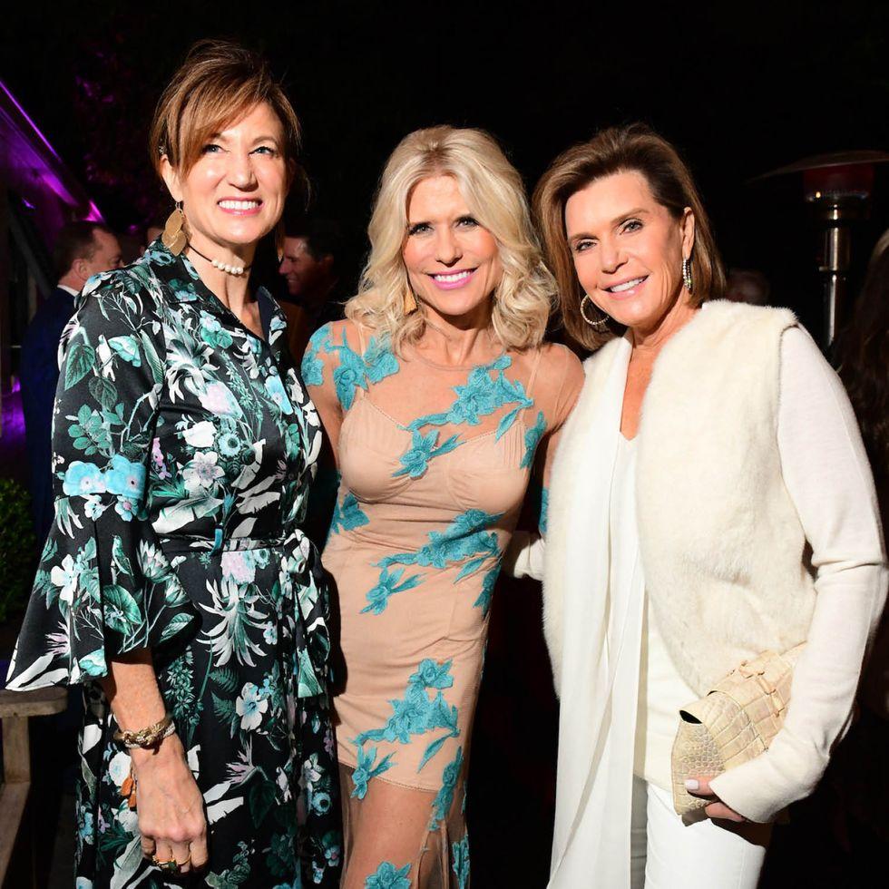 Ann Bastian, Catherine Badger and Trish Millard at 'Picnic.'