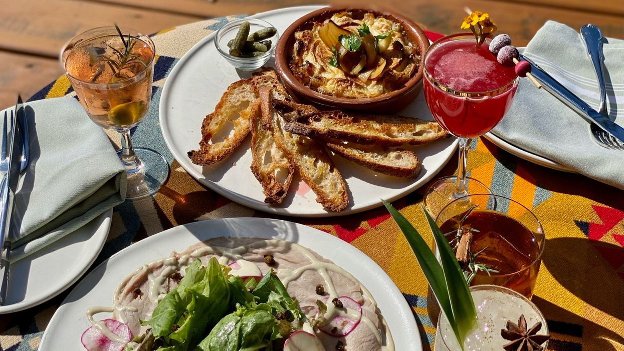 From Spritz to Firepits: Rosie Cannonball's New Patio Is Cozy-Chic and Ready for Winter