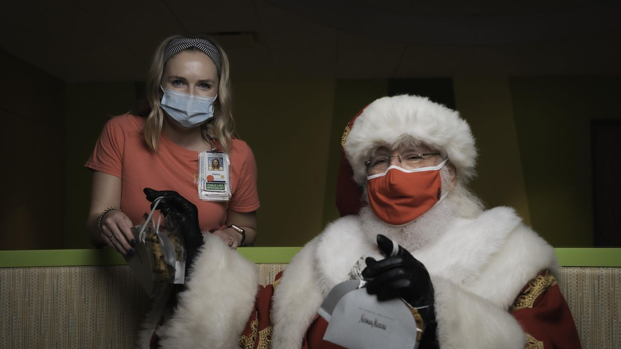 Neiman Marcus and Dec My Room Bring Holiday Cheer to Children Spending the Season in the Hospital