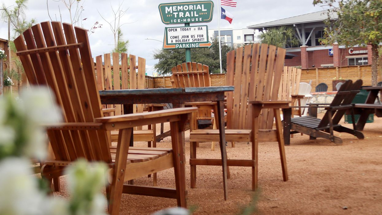 Memorial Park's New Patio Bar Is Perfect for a Socially Distant New Year's Eve