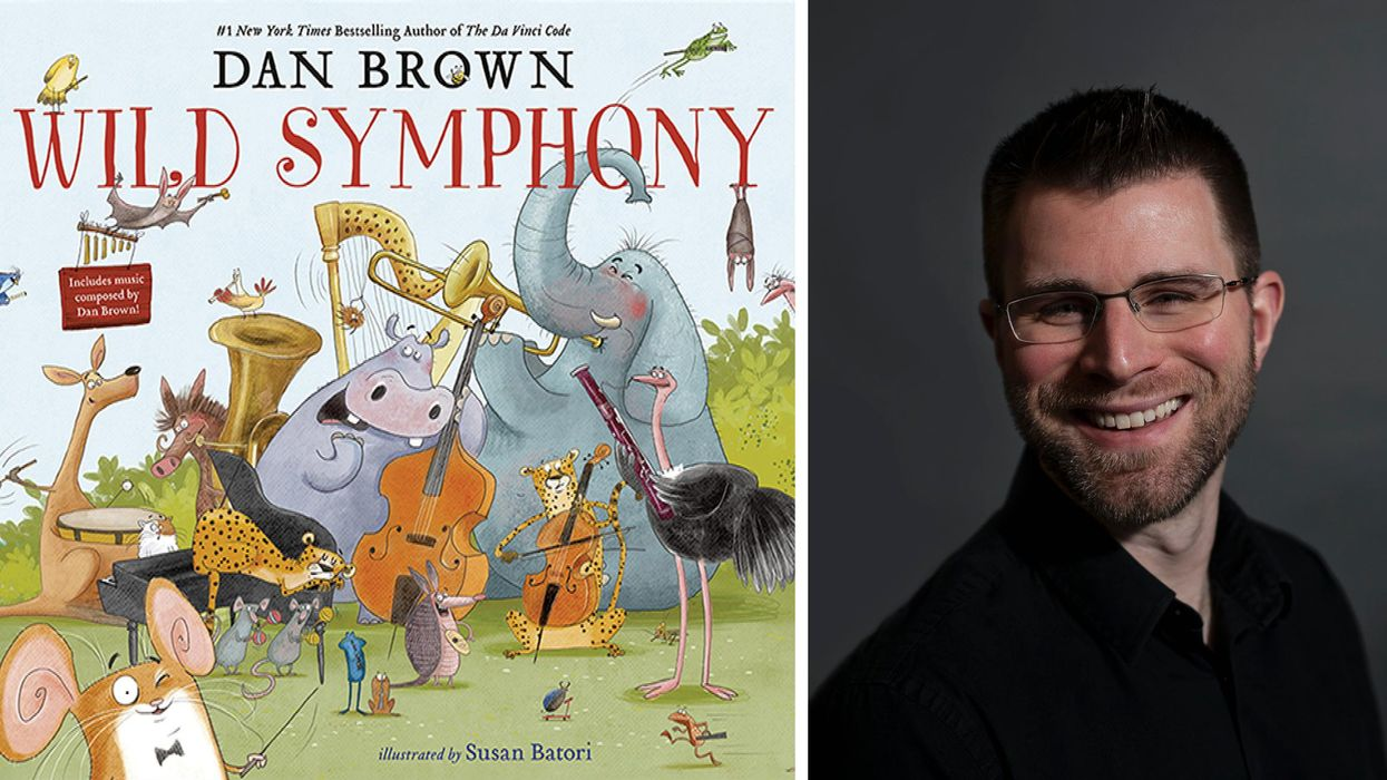 Houston Composer Orchestrates Musical Suite for Dan Brown's New Kids Book