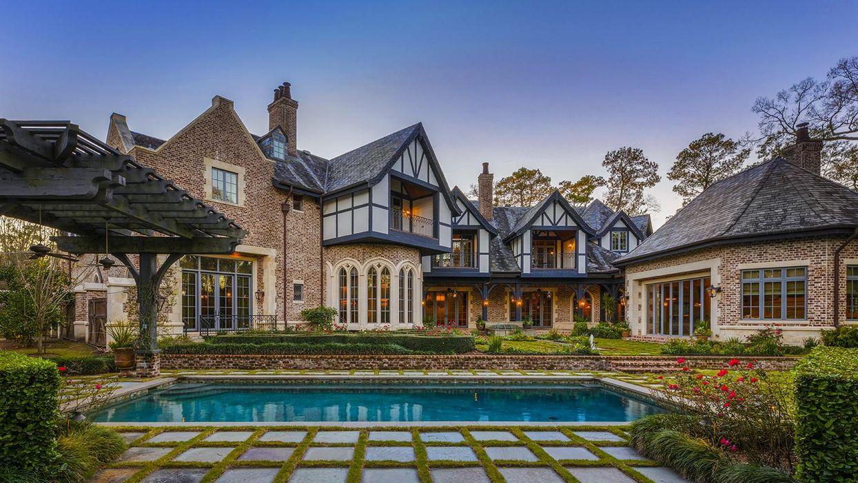 $26.5 Mil River Oaks Estate Hits the Market