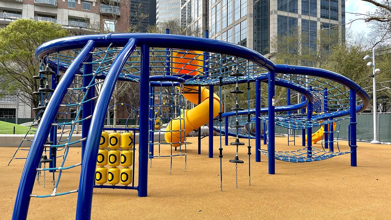 New Playground at Discovery Green Finally Unveiled
