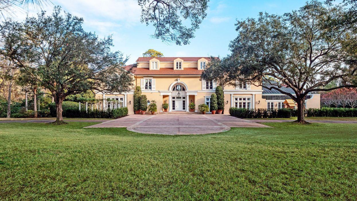 Gerald Hines' $34.5 Million Estate Hits the Market
