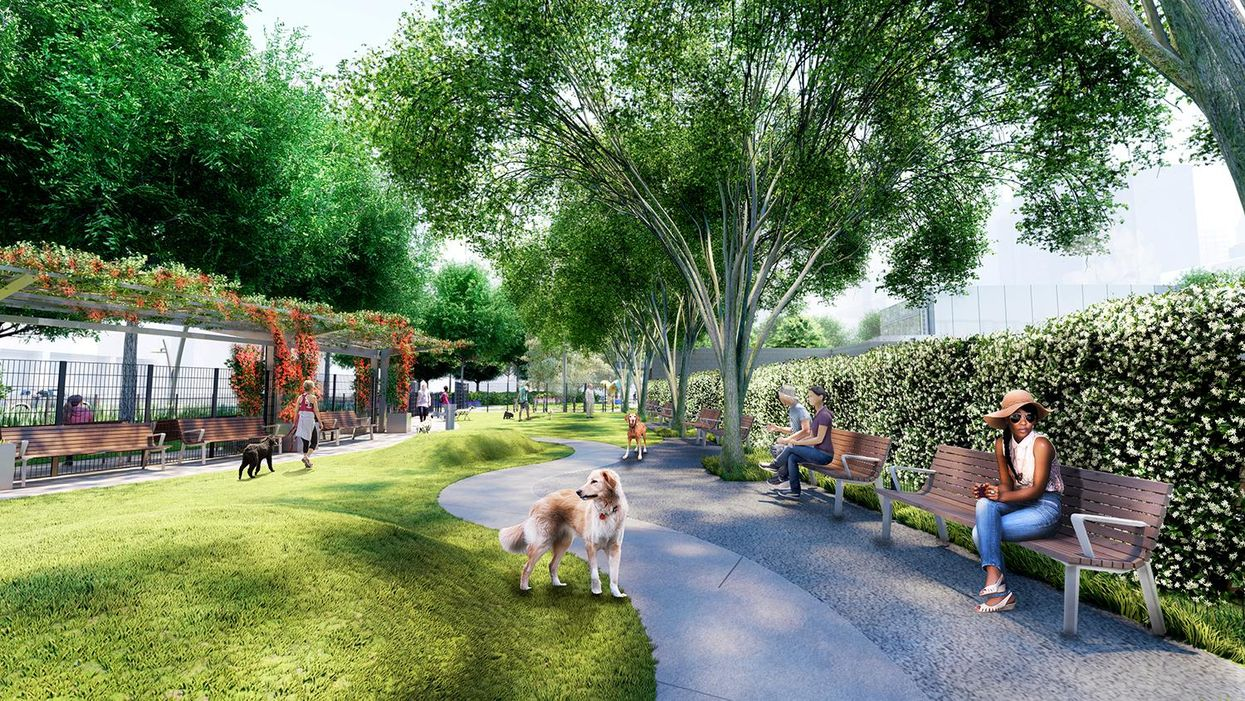 We Can't Wait for This New Downtown Park to Open
