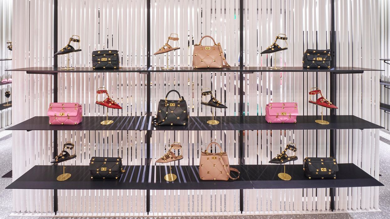 Valentino Relocates, Expands in the Galleria