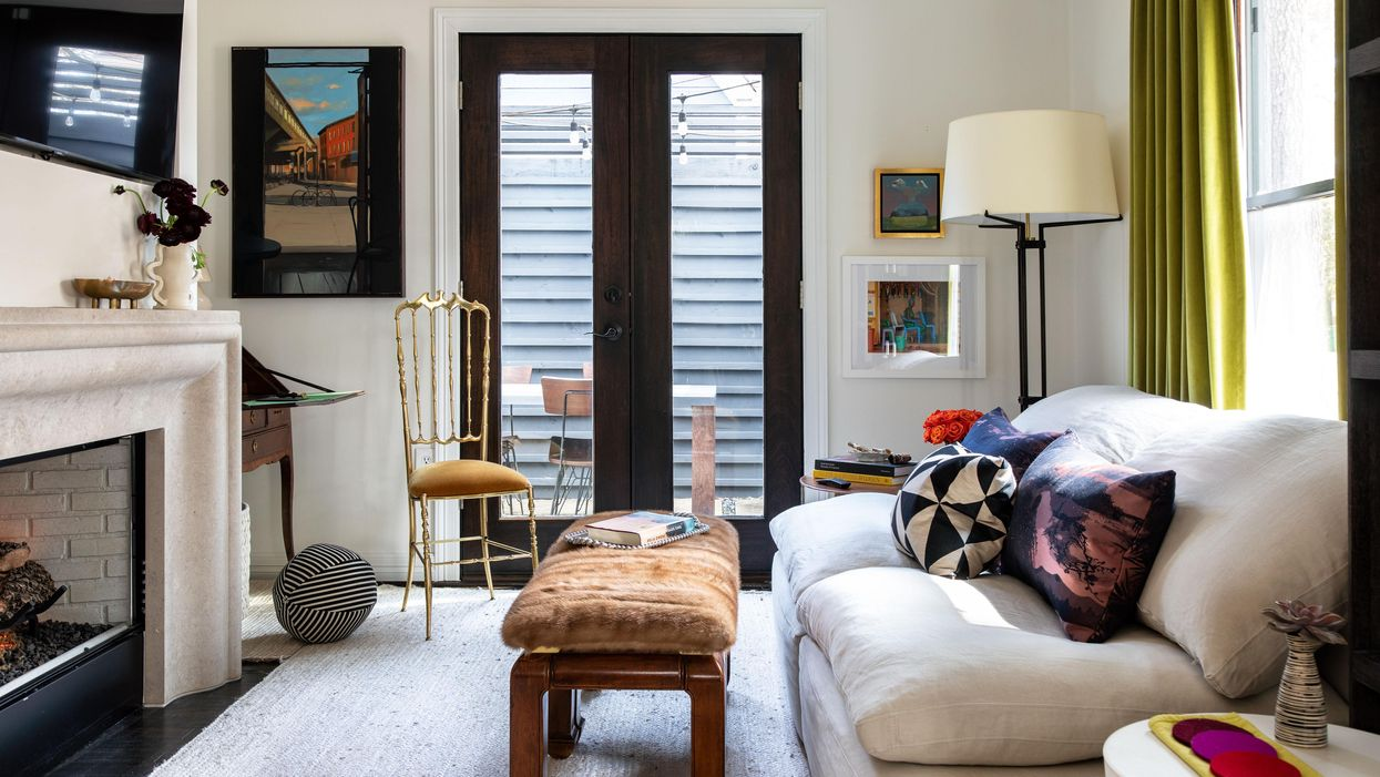 This Designer Bought a House the Week of Her Wedding, Finished the Reno in Record Time!