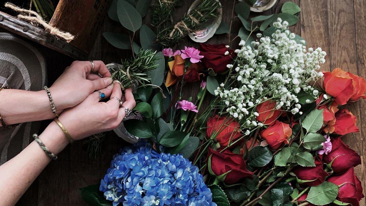 Local Florist Turns Dried Floral Arrangements into a Budding New Eco-Conscious Biz