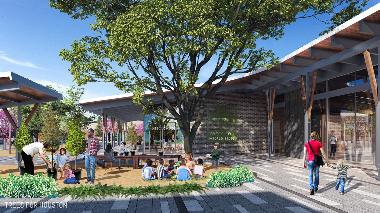 On the Grow: Trees for Houston Plans New Permanent Campus