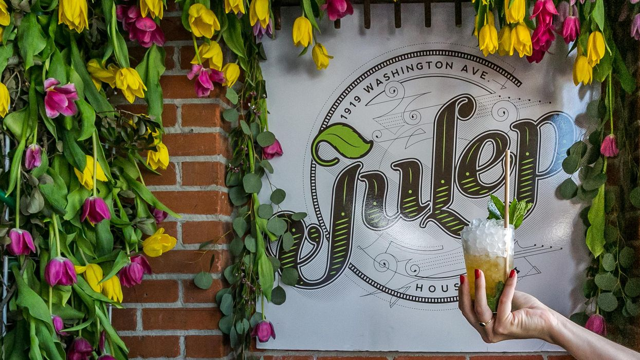 Wash Ave's Julep Reopens with Outdoor Derby Day Party