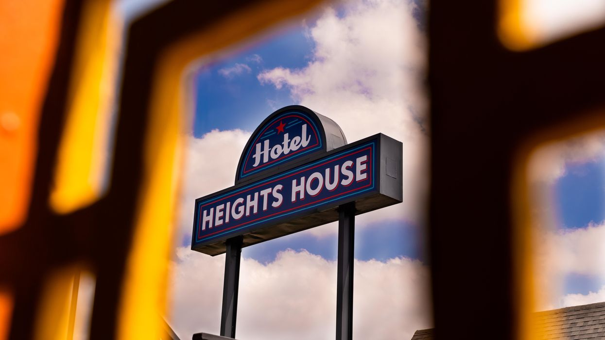 A Vibrant Retro Motel Has Opened in the Heights, the District's First Boutique Lodging