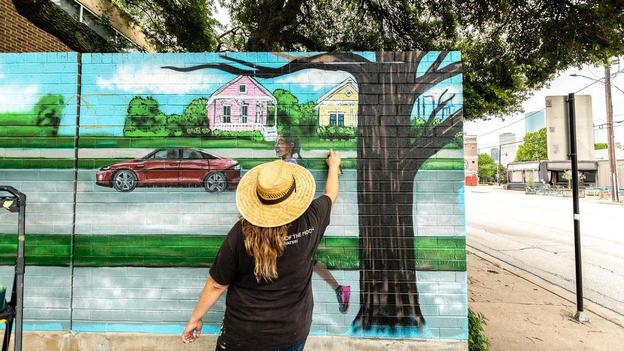 Houston Mural-Painting Festival Now in Full Swing