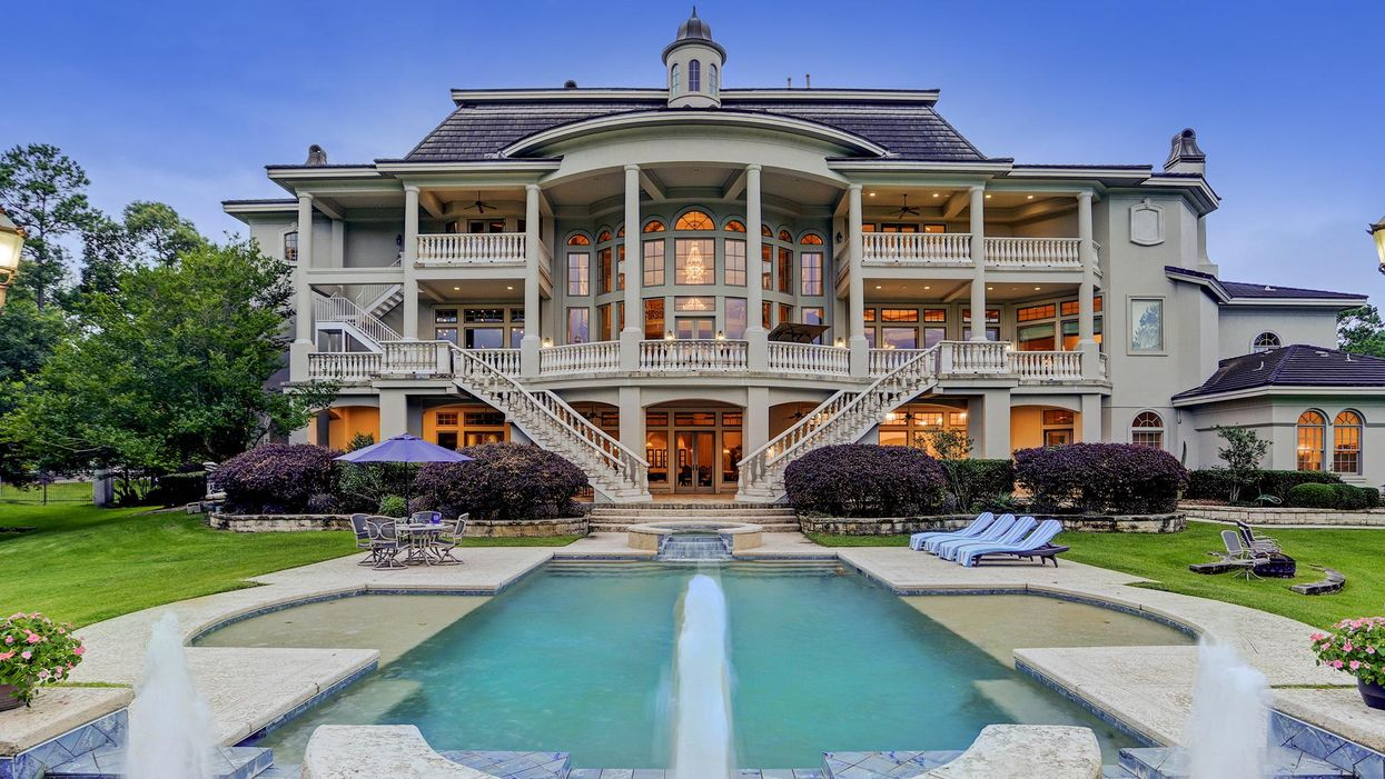 Complete with Trophy Room and Indoor Basketball Court, Kingwood Manse Hits the Market