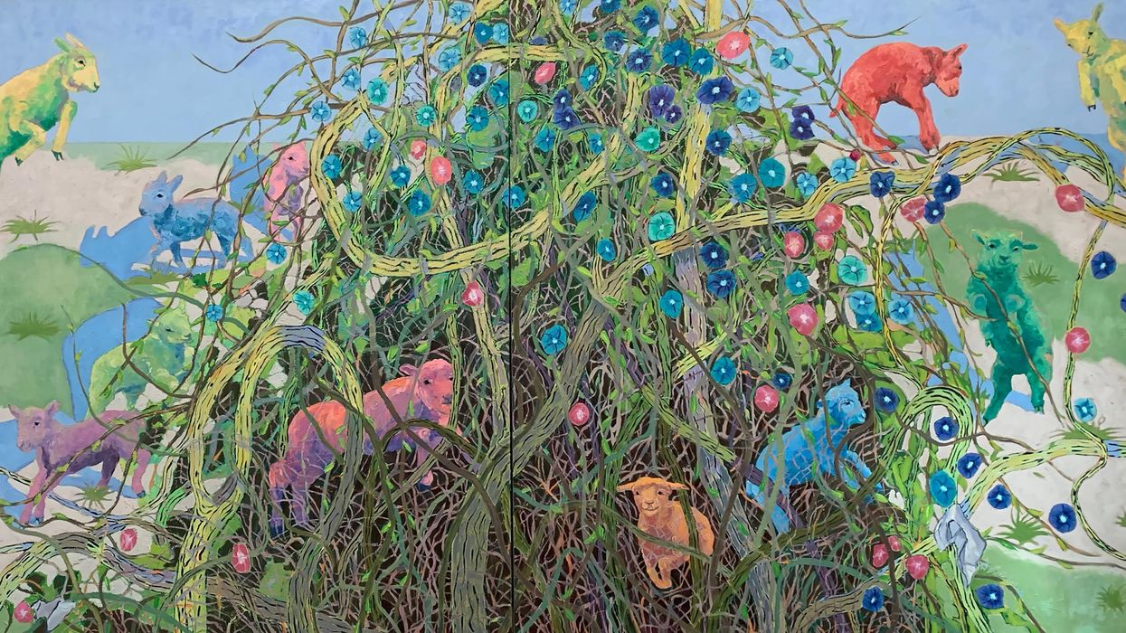 Rural Texas Life Gets Technicolor Treatment in Belleville-Based Painter's New Show at Colton