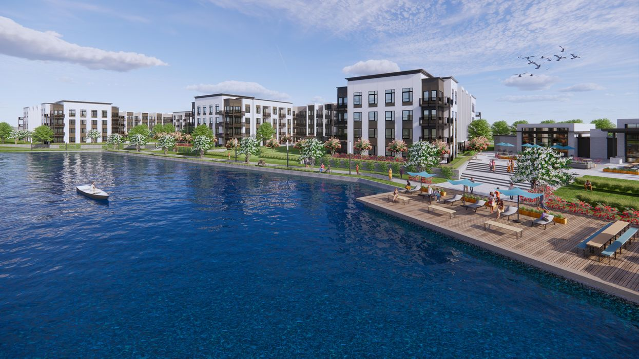 New Health-Minded 'Urban Oasis' Development with Private Lake Headed to CityCentre Area