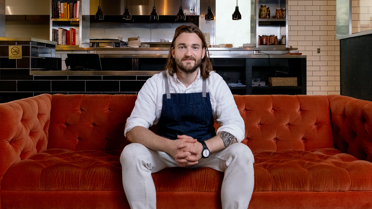 Ex Uchi Prep Cook Opens Own Place in CityCentre, Says Local Art and Vinyl Records on the Menu