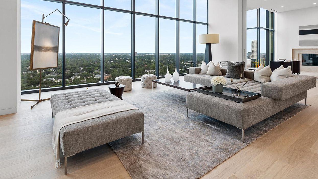 Sleek New Designer Penthouse on Westheimer Hits Market for $8.99 Mil
