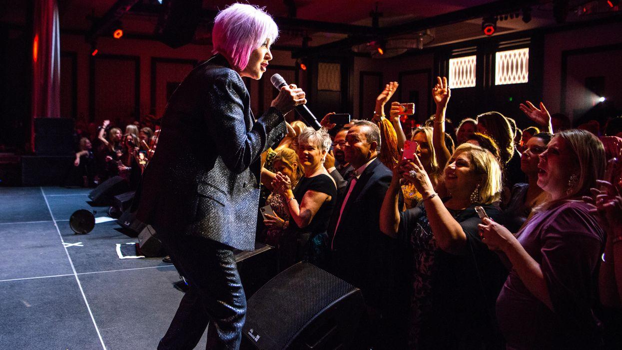 Cyndi Lauper Rocks Out at Houston Children's Charity's '80s-Glam Gala