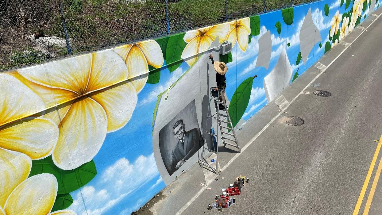 Sprawling New Mural Honors Civil-Rights Leader During Hispanic Heritage Month