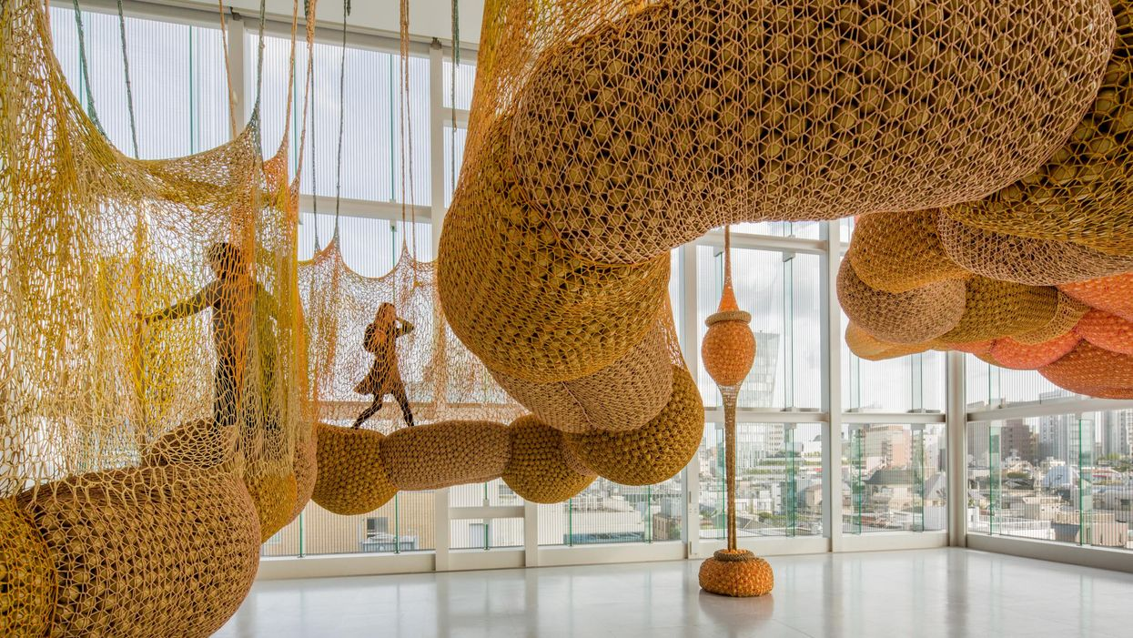 Crocheting Isn't Just For Scarf-Sewing Grannies! A Massive Crocheted Walkway Is Coming to MFA