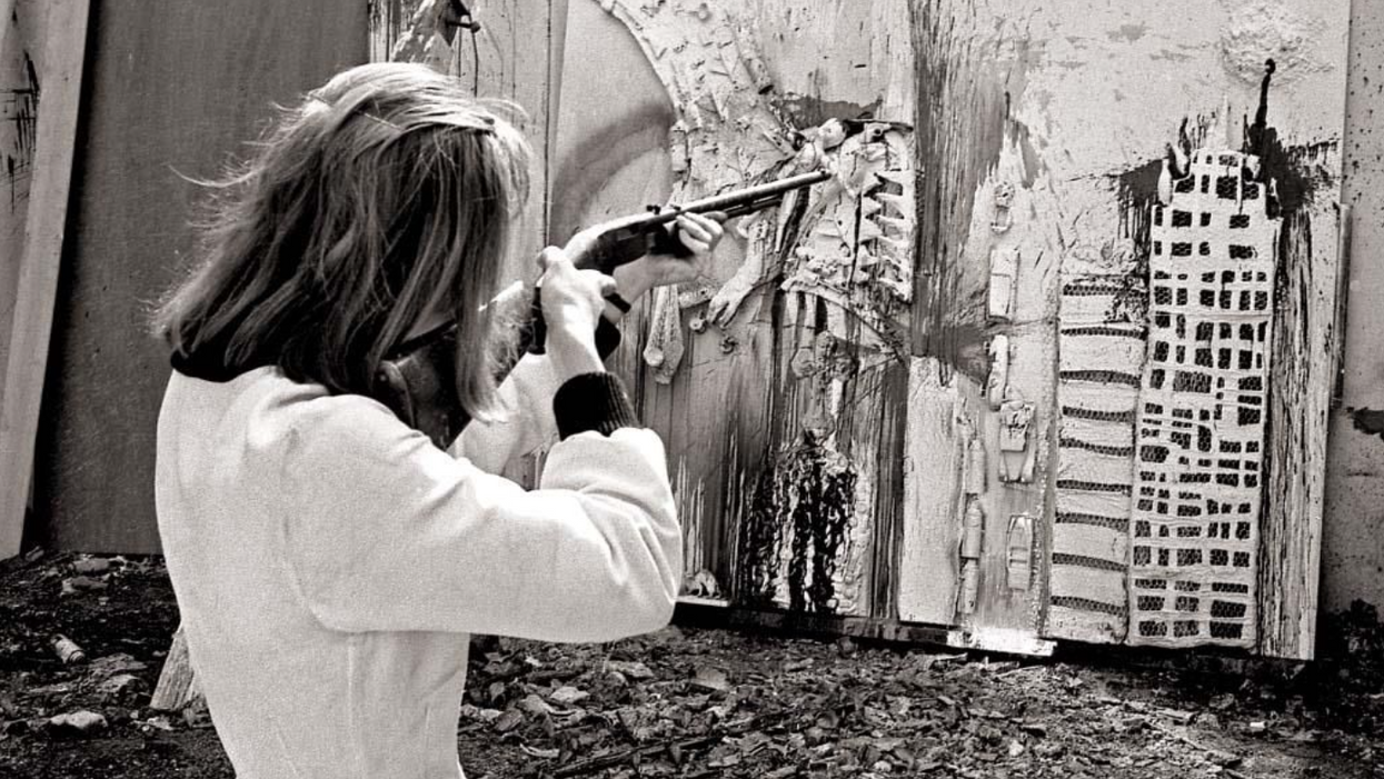 Menil to Show Work of '60s Feminist Who Made Paintings with a Rifle