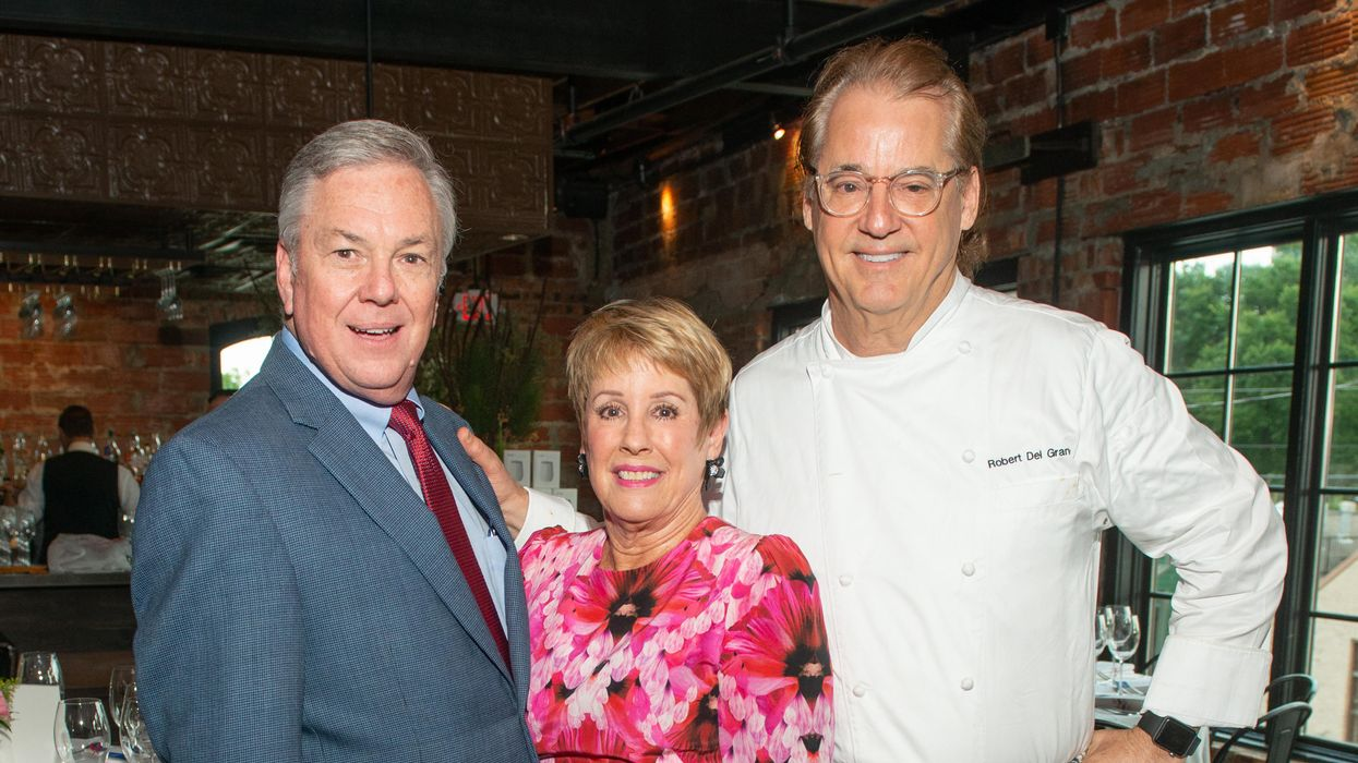 Berg and Del Grande's Charity Wine Dinner Finds New Home After Annie Fire