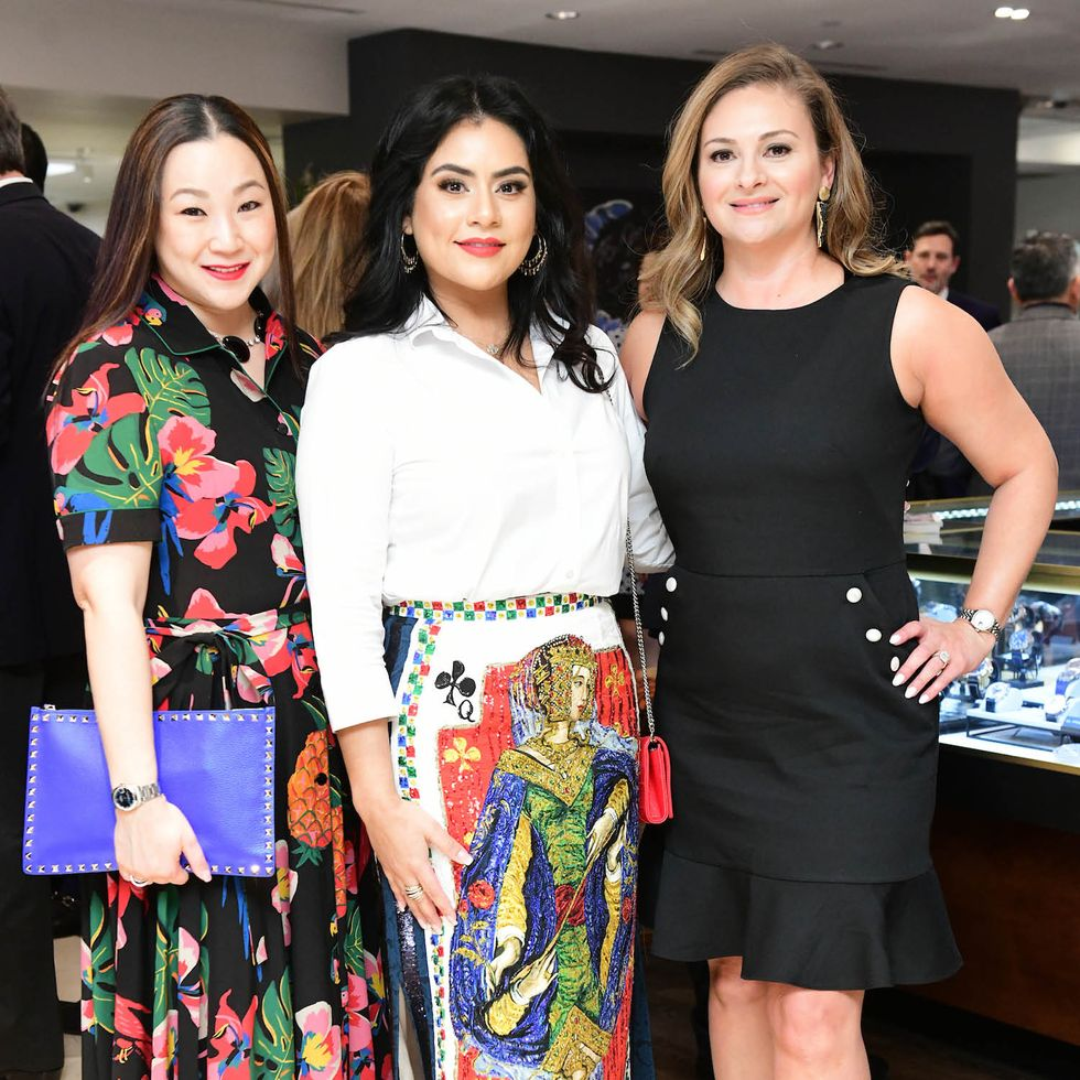 Sharon Torres, Elia Gabbanelli and Maritza Gonzales at 'Latin.'